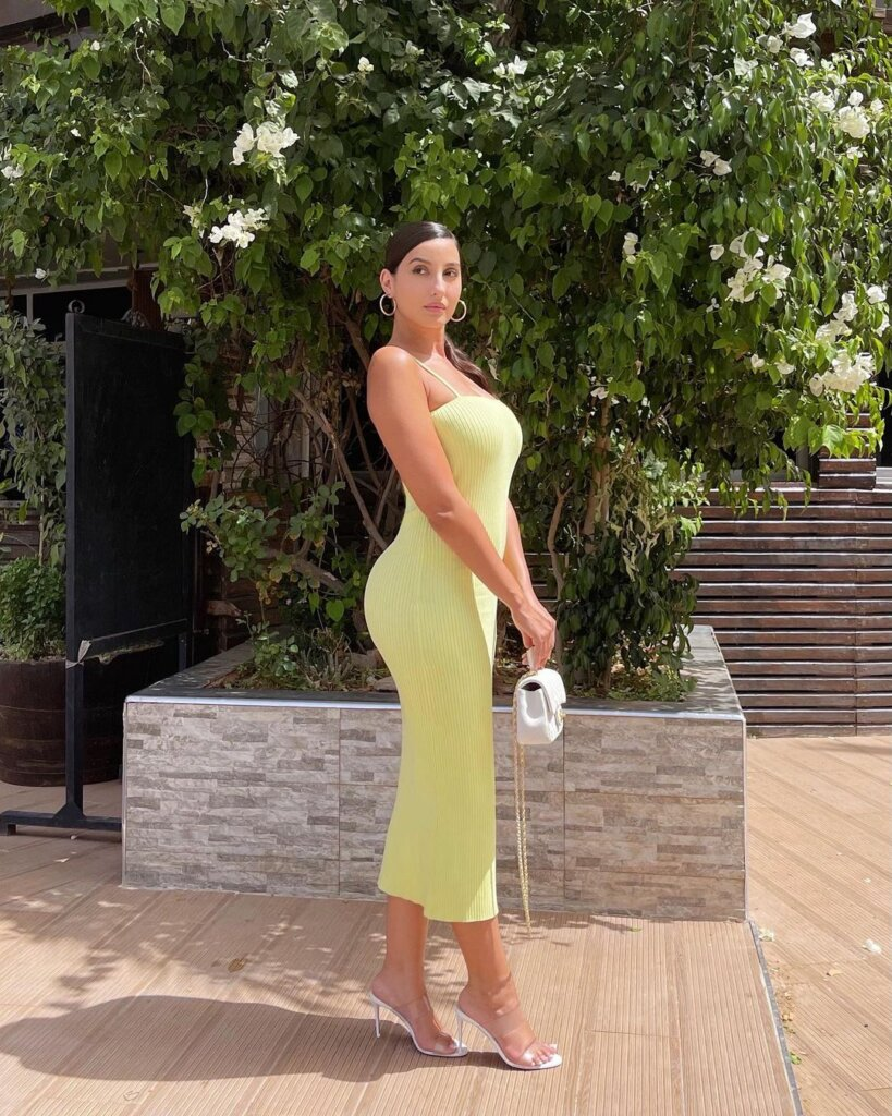 Nora Fatehi Drops Sizzling Back Pictures