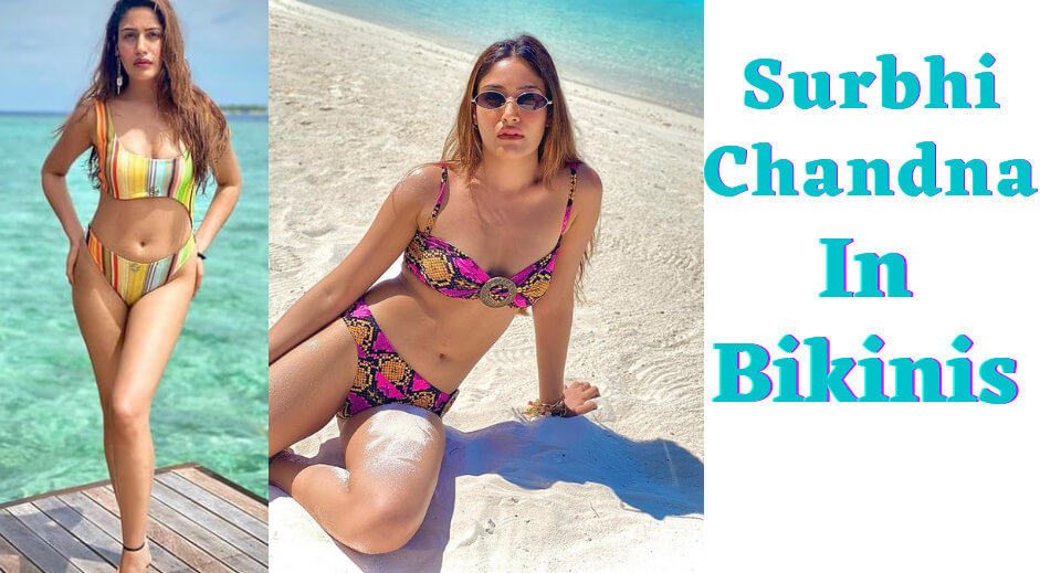 Surbhi Chandna, a popular TV actress, never fails to surprise her fans when it comes to revealing her fit body. Ishqbaaz actress understands how to spice up her Instagram account by uploading seductive and fashionable photos. This happened to her lately while she was on holiday in the Maldives.